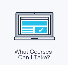 What courses can I take?