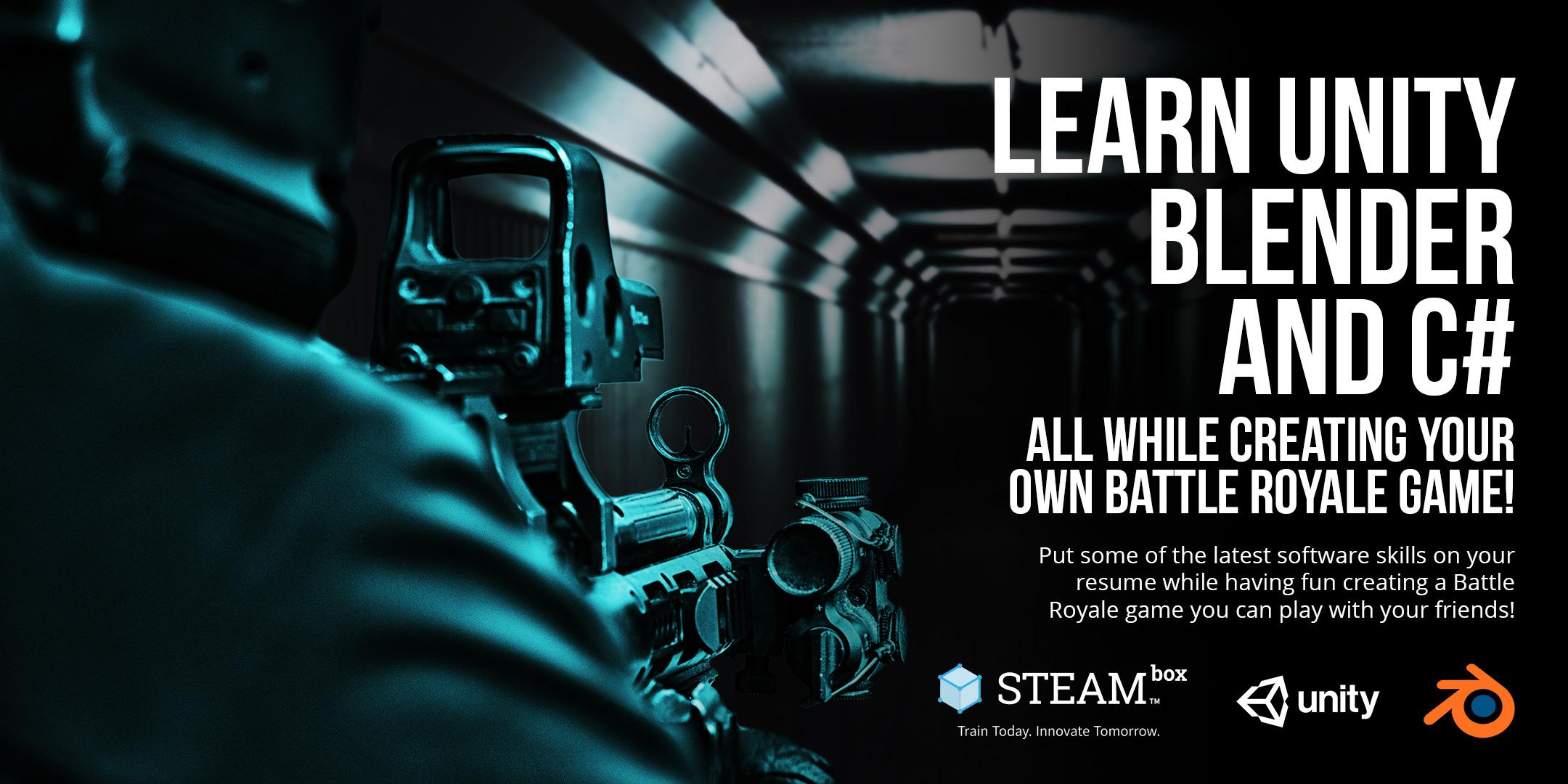 Unity Battle Royale - STEAMBOX